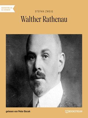 cover image of Walther Rathenau