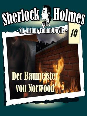 cover image of Sherlock Holmes, Die Originale, Fall 10