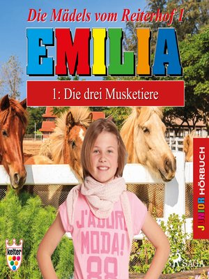 cover image of Emilia--Die Mädels vom Reiterhof, 1