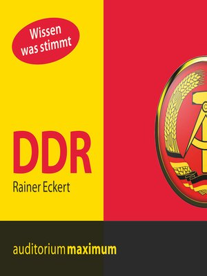 cover image of DDR