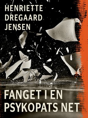 cover image of Fanget i en psykopats net