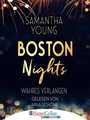 cover image of Boston Nights--Wahres Verlangen