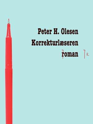 cover image of Korrekturlaeseren