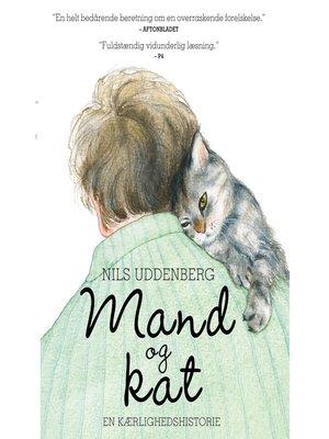 cover image of Mand og kat