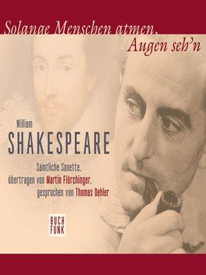 cover image of Sonette