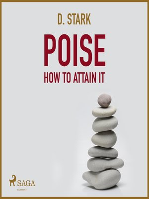 cover image of Poise How to Attain It