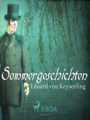 cover image of Sommergeschichten