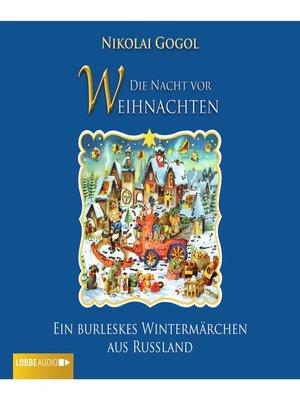 cover image of Die Nacht vor Weihnachten