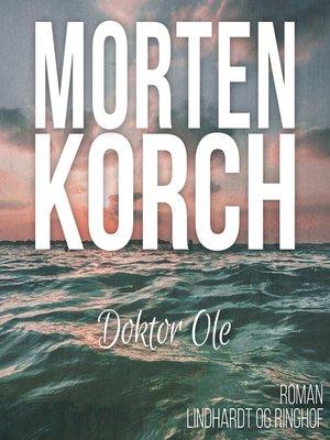 cover image of Doktor Ole
