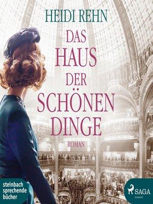 cover image of Das Haus der schönen Dinge