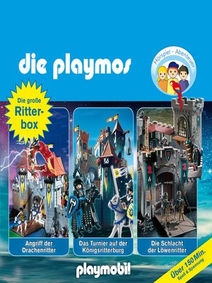 cover image of Die Playmos--Das Original Playmobil Hörspiel, Die große Ritter-Box, Folgen 2, 8, 20