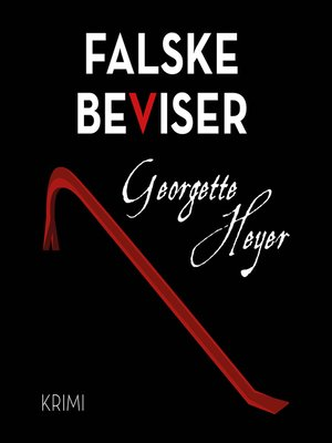 cover image of Falske beviser