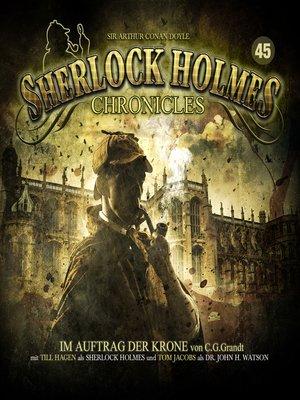 cover image of Sherlock Holmes Chronicles, Folge 45