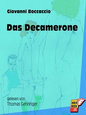 cover image of Das Decamerone