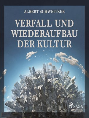 cover image of Verfall und Wiederaufbau der Kultur (Ungekürzt)