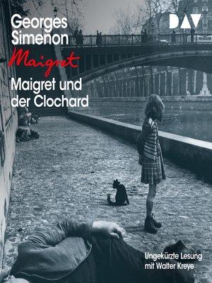 cover image of Maigret und der Clochard