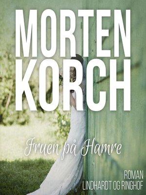 cover image of Fruen på Hamre