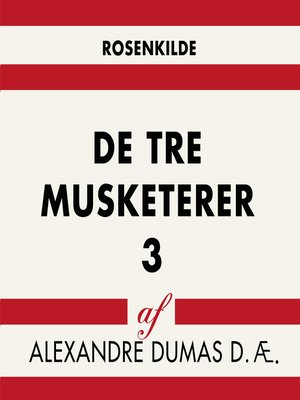 cover image of De tre musketerer 3