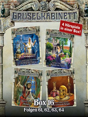cover image of Gruselkabinett, Box 16