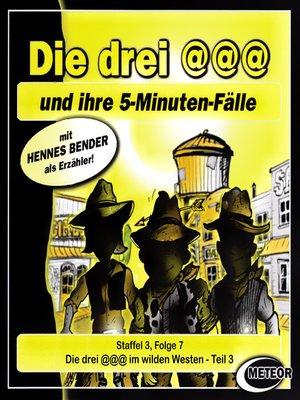 cover image of Die drei @@@ (Die drei Klammeraffen), Staffel 3, Folge 7