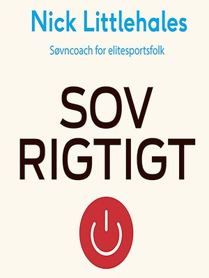 cover image of Sov rigtigt