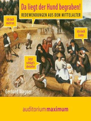 cover image of Da liegt der Hund begraben!--Redewendungen aus dem Mittelalter
