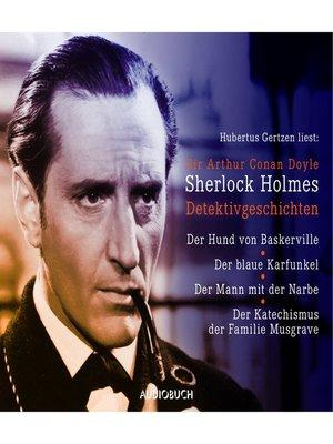 cover image of Sherlock Holmes--Detektivgeschichten