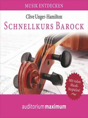 cover image of Schnellkurs Barock