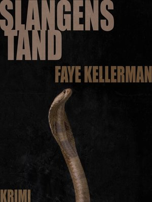 cover image of Slangens tand