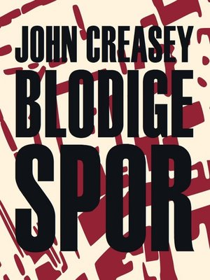 cover image of Blodige spor