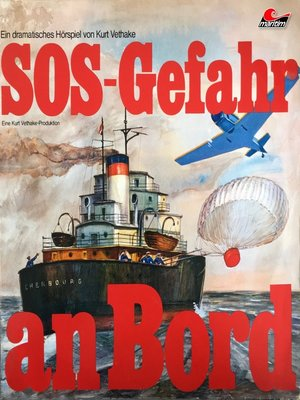 cover image of SOS--Gefahr an Bord