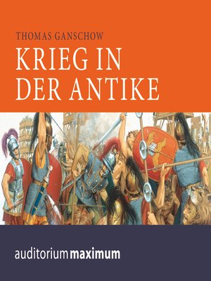 cover image of Krieg in der Antike