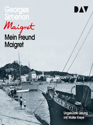 cover image of Mein Freund Maigret