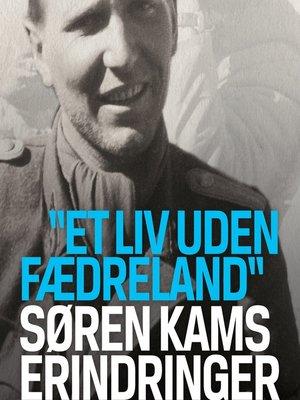 cover image of Søren Kams erindringer