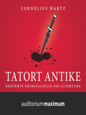 cover image of Tatort Antike