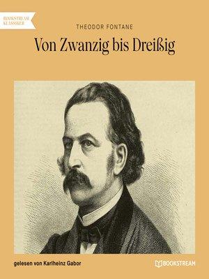 cover image of Von Zwanzig bis Dreißig