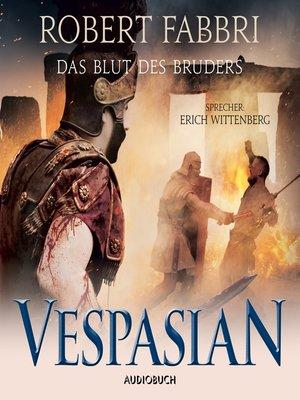 cover image of Das Blut des Bruders--Vespasian 5