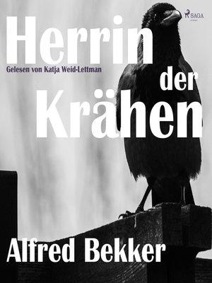 cover image of Herrin der Krähen