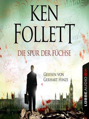 cover image of Die Spur der Füchse