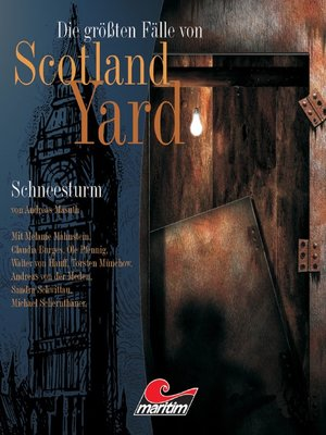 cover image of Die größten Fälle von Scotland Yard, Folge 9