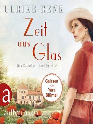 cover image of Zeit aus Glas