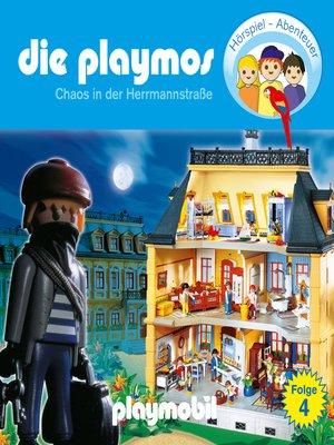 cover image of Die Playmos--Das Original Playmobil Hörspiel, Folge 4