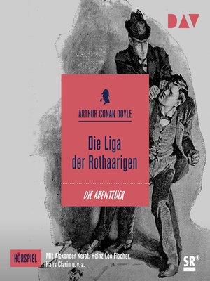 cover image of Die Liga der Rothaarigen