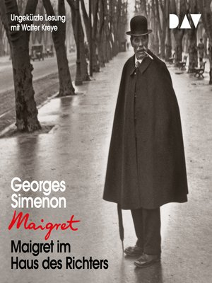 cover image of Maigret im Haus des Richters