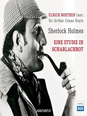 cover image of Sherlock Holmes--Eine Studie in Scharlachrot