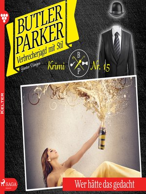 cover image of Butler Parker, 15