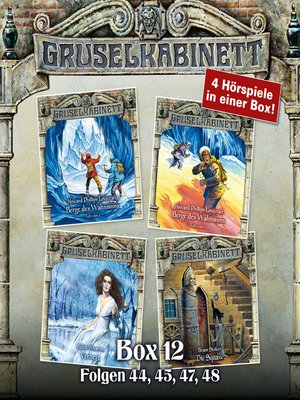 cover image of Gruselkabinett, Box 12