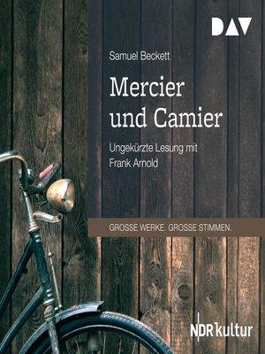 cover image of Mercier und Camier