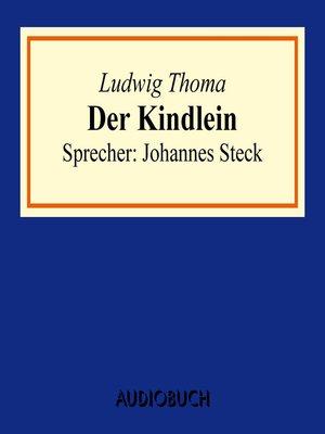 cover image of Der Kindlein