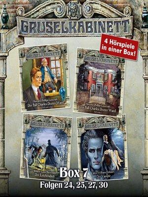 cover image of Gruselkabinett, Box 7